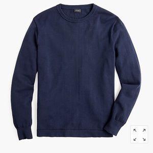 J.Crew Men's Harbor Cotton crew neck sweater